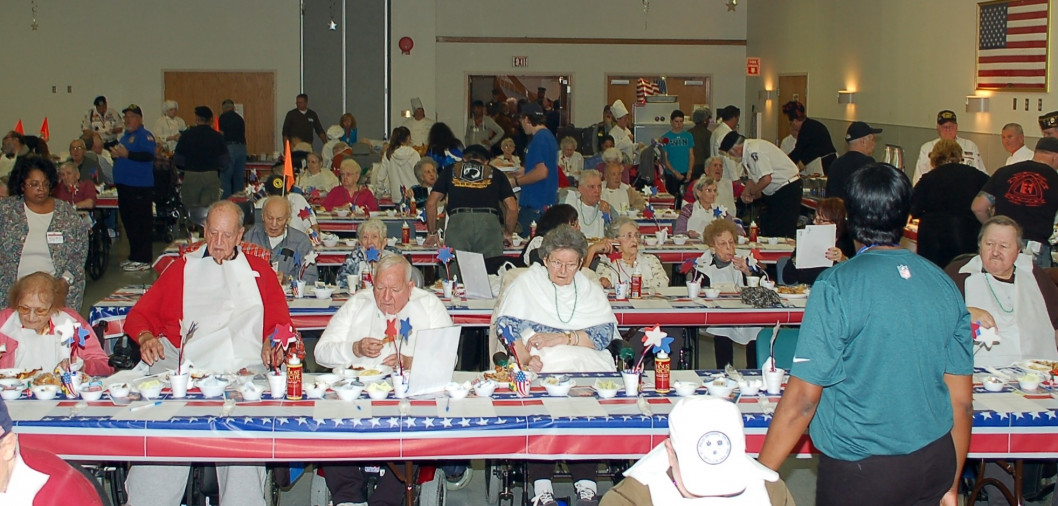 NOTICE: Our next successful Veterans Day Brunch at the Veterans Home in Vineland, NJ